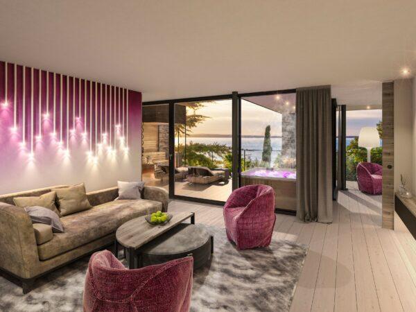 Innen Tag Penthouse Suite Stock 1 Tag_Quellenhof Luxury Resort Lazise